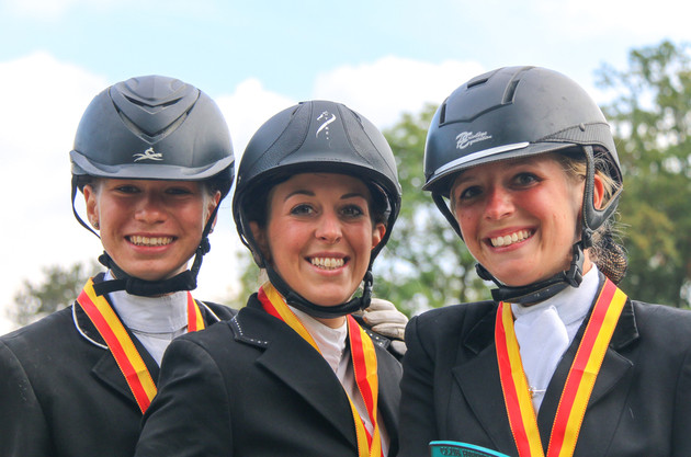 Tiphaine Nagy (Or), Marie Emery (Argent), Mélanie Huber (Bronze)