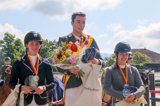 Or: Matteo Calabrese, Argent: Amandine Pouilly, Bronze: Sarah Haenni