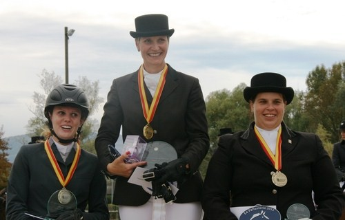Or: Sandrine Bagnoud, Argent: Jenna Rohrbasser, Bronze: Cynthia Barthe